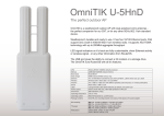 Mikrotik U-5HND WLAN access point