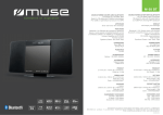 Muse M-58 BT home audio set