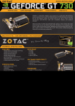 Zotac ZT-71115-20L NVIDIA GeForce GT 730 4GB graphics card