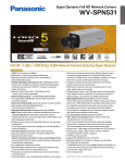 Panasonic WV-SPN531 surveillance camera