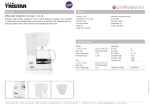 Tristar KZ-1232 coffee maker