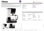 Tristar KZ-2216 coffee maker