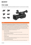 Sony PXW-X200 hand-held camcorder