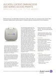 Alcatel-Lucent OAW-AP204 WLAN access point
