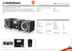 AudioSonic HF-1260 home audio set