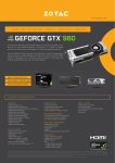 Zotac ZT-90201-10P NVIDIA GeForce GTX 980 4GB graphics card