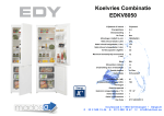 EDY EDKV8050 fridge-freezer