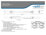 Add-On Computer Peripherals (ACP) 10GB-C01-SFPP-AO network transceiver module