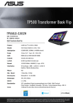 ASUS Transformer Book TP550LD-CJ032H