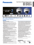 Panasonic WV-SFN310 surveillance camera