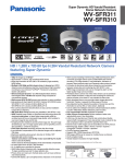 Panasonic WV-SFR310 surveillance camera