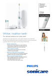 Philips Sonicare HealthyWhite HX6733/43 electric toothbrush