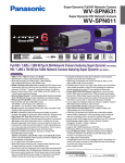 Panasonic WV-SPN631 surveillance camera