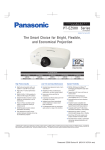 Panasonic PT-EZ580 data projector