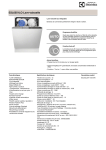 Electrolux ESL6551LO dishwasher