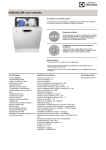 Electrolux ESI6542LOW dishwasher