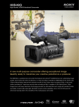 Sony HXR-NX3/VG1 hand-held camcorder