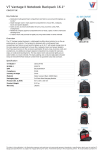 V7 Vantage II Notebook Backpack 16.1