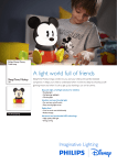 Philips SleepTime Mickey LED