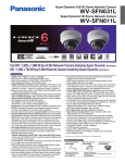 Panasonic WV-SFN611L surveillance camera