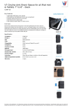 V7 Cityline Anti-Shock Sleeve for all iPad mini & Tablets 7