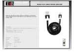 T'nB CBFLAT1BK mobile phone cable