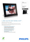 Philips Digital PhotoFrame SPF5010