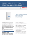 Bosch ISC-PDL1-WA18G motion detector