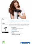 Philips ThermoProtect Ionic Hairdryer HP8234/03