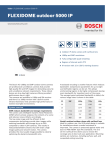 Bosch FLEXIDOME outdoor 5000 IR