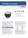 Bosch FLEXIDOME indoor 5000 HD