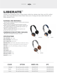 The House Of Marley EM-JH073-MI mobile headset
