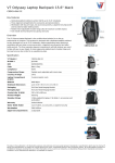V7 Odyssey Laptop Backpack 15.6