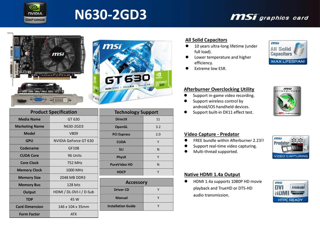 Driver msi fx5500-d256h