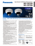 Panasonic WVSF539 surveillance camera
