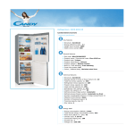 Candy CKCN 6202 XE fridge-freezer