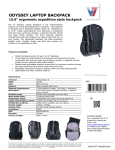 V7 CBEX1A-BLK-1N backpack