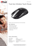 Trust Scor Wireless Touch Mouse