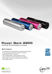 ARCTIC Power Bank 2200