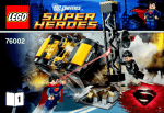 Lego DC Comics Super Heroes Superman: Metropolis Showdown 119pc(s)