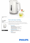 Philips HD9309/00 electrical kettle