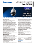 Panasonic WV-SW598 surveillance camera