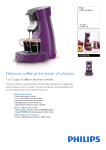 Philips Senseo HD7825/48 coffee maker