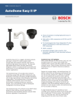 Bosch AutoDome Easy II IP
