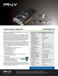 PNY VCQK4000SDI-PB NVIDIA Quadro K4000 3GB graphics card