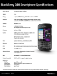 BlackBerry Q10 16GB 4G Black