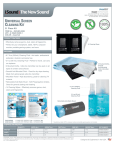 dreamGEAR ISOUND-5285 equipment cleansing kit
