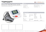 Topcom BD-4605 blood pressure unit