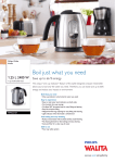 Philips Walita Kettle RI4622/21