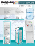 Ragalta RWC-195 water dispencer
